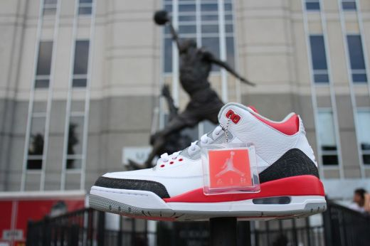 x Air Jordan 3 Fire Red 16th of August x