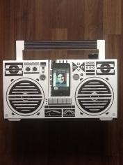 Berlin Cardboard Boombox